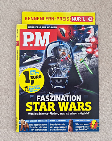P.M. magazine (topic Star Wars)